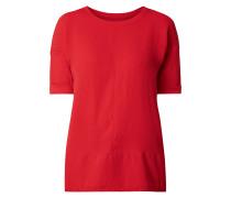 Blusenshirt mit überschnittenen Schultern