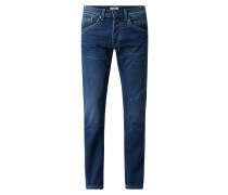Regular Fit Jeans mit Stretch-Anteil Modell 'Track'