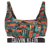 Bikini-Oberteil mit floralem Muster