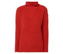 Sweatshirt mit Webstruktur