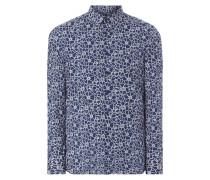 Super Slim Fit Hemd mit floralem Muster