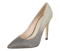 High Heels mit Farbverlauf und Glitter-Effekt