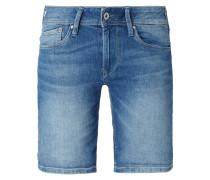 Coloured Jeansshorts mit Stretch-Anteil
