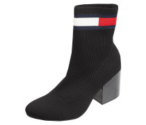 Sock Booties mit Rippenstruktur