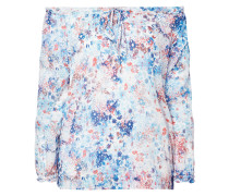 Off Shoulder Blusenshirt mit floralem Muster