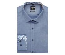 Super Slim Fit Business-Hemd mit Stretch-Anteil und extra langem Arm