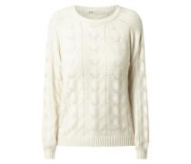 Pullover mit Lochdetails