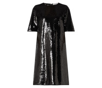 Kleid mit Pailletten-Applikationen Modell 'Dettia'