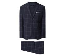 Super Slim Fit Anzug mit 2-Knopf-Sakko