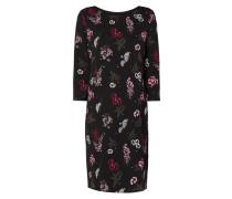 Kleid mit floralem Muster
