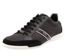 Sneaker aus Leder und Textil Modell 'Saturn Low'