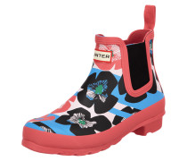 Chelsea Boots mit floralem Muster