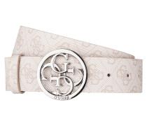 Gürtel mit Logo-Muster