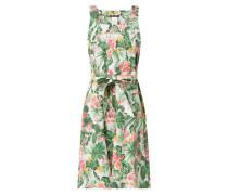 Kleid aus Baumwolle mit floralem Muster
