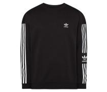 Sweatshirt aus Baumwolle und recyceltem Polyester