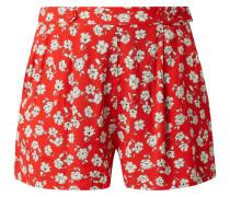 Shorts aus Viskose mit floralem Muster Modell 'Liberty'