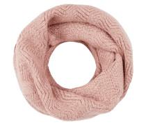 Loop-Schal mit Zickzack-Muster