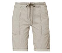 Shorts mit Streifenmuster
