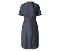 Blusenkleid in Denim-Optik Modell 'Eginny'