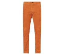 Tapered Fit Chino aus Cord