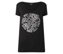 T-Shirt mit Logo-Print Modell 'Blair'