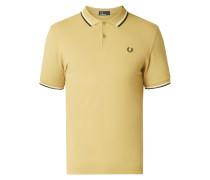 Poloshirt mit Zierstreifen