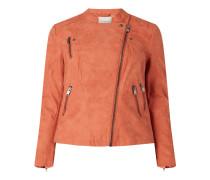 PLUS SIZE Jacke in Leder-Optik Modell 'Avana'