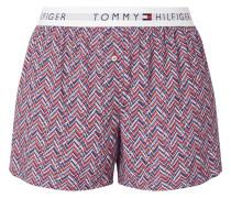 Shorts mit Fischgrat-Dessin