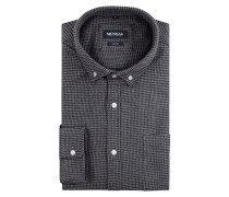 Tailored Fit Freizeithemd mit Button-Down-Kragen