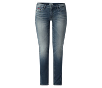 Low Rise Skinny Fit Jeans mit Stretch-Anteil Modell 'Sophie'