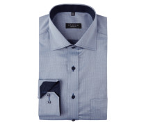 Comfort Fit Business-Hemd mit Haifischkragen