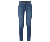 Skinny Fit Jeans mit Stretch-Anteil Modell 'Divine'