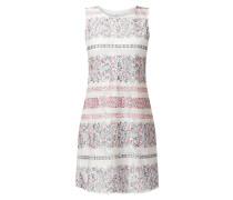 Kleid aus Spitze mit floralem Muster