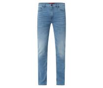 Slim Fit Jeans mit Stretch-Anteil Modell 'Hugo 708'