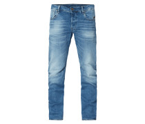 3D Slim Fit Jeans mit Stretch-Anteil
