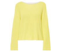 Pullover im zweifarbigen Design
