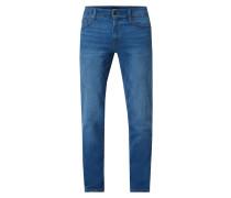 Regular Fit Jeans aus Baumwoll-Elasthan-Mix