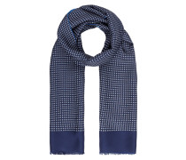 Wende-Schal aus Seide und Wolle