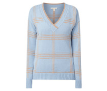 Pullover mit Gitterkaro