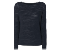 Pullover aus Slub Knit