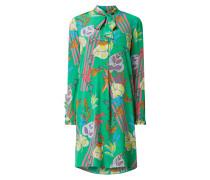 Blusenkleid aus Seide mit Paisley-Dessin