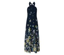 Abendkleid mit floralem Muster
