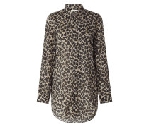 Bluse mit Leopardenmuster Modell 'Taya'