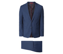 Extra Slim Fit Anzug aus Schurwolle