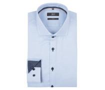 Slim Fit Business-Hemd aus Baumwolle mit Haifischkragen