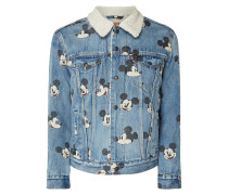Sherpa Trucker Jacket mit Mickey Mouse©-Prints