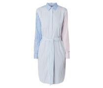 Hemdblusenkleid aus Organic Cotton