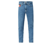 Relaxed Tapered Fit Jeans  - recycled Denim
