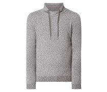 Pullover mit Tube Collar