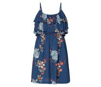 Kleid mit Volants im Stufen-Look